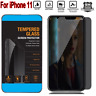 For iPhone 11 / 11 Pro Max XS X Privacy Anti-Spy Tempered Glass Screen Protector