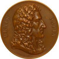 L5498 Médaille Denis Papin Appareils à Vapeur Nord France 1873 1898 Borrel 1852