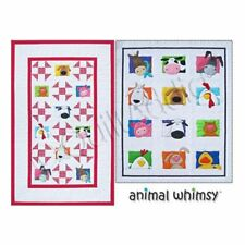 Amy Bradley Design - Animal Whimsy Pattern, Full Size Quilt, Fabric Block Design