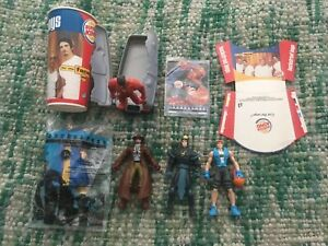 Rare 2000 Burger King Backstreet Boys Complete Set and Cup and Fries Container