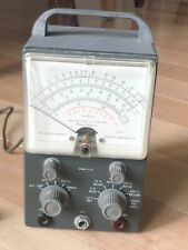 Vintage Heathkit Model V 7a Vacuum Tube Voltmeter Power On Tested Only