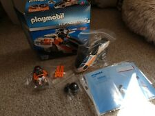 Playmobil Top Agents 5288  Motorbike 100% Complete Boxed Condition