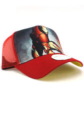 New Era Iron Man Adjustable Hat Marvel Studios Movie Cap NWT
