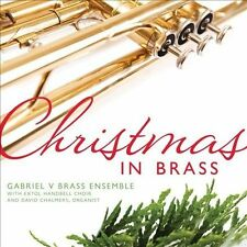 Christmas in Brass Gabriel V Brass Ensemble Audio CD Used - Good
