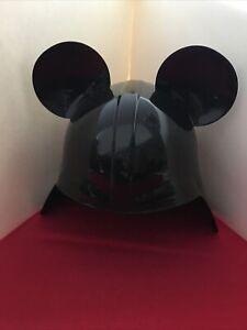RARE Disney Parks Star Wars Darth Vader Helmet Mickey Mouse Ears Hat - Adult