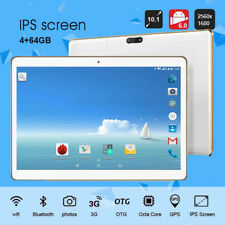 10.1'' Tablet PC Android 6.0 Octa Core 4+64GB 10.1 Inch HD Wifi 2 SIM 4G Phablet