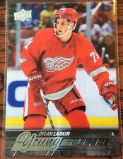 2015-16 DYLAN LARKIN UPPER DECK SERIES 1 YOUNG GUNS ROOKIE #228 RED WINGS