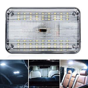 12V 36LED Trailer Interior Ceiling Roof Light Cabin Dome Caravan Bus Truck Boat