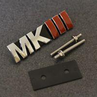 MKIII Front Grill Emblem Badge Decal Sticker MK3 Mark 3 Logo VW Seat Skoda G*