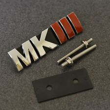 MKIII Front Grill Emblem Badge Decal Sticker MK3 Mark 3 Logo VW Seat Skoda G*