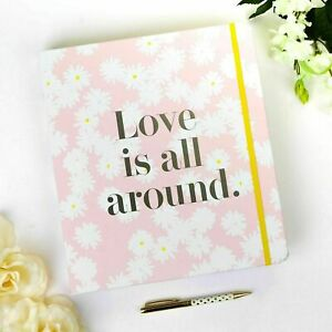 KATE SPADE New York LOVE IS ALL AROUND Bridal Planner Boxed Wedding Organiser