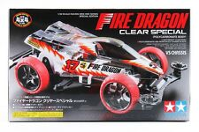 Tamiya 95337 1/32 Mini 4WD Car Kit VS Chassis Fire Dragon Clear Body Special
