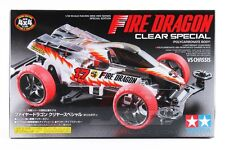 Tamiya Mini 4wd Limited Fire Dragon Special Clear Body VS Chassis 95337