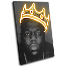 Notorious BIG Biggie Grunge Urban SINGLE CANVAS WALL ART Picture Print