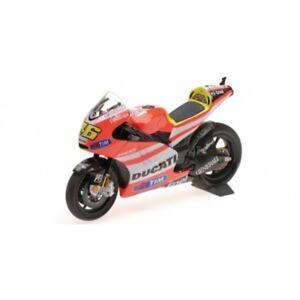 MINICHAMPS 122 112046 Ducati Desmosedici GP11.2 model bike Rossi MotoGP 11 1:12
