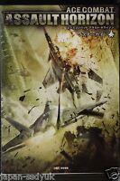 JAPAN Ace Combat: Assault Horizon Master Guide Book