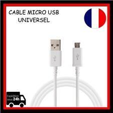 Câble Cordon De Données Recharge Micro USB 1m 2m 3m Blanc/ Samsung/HTC/Wholesale