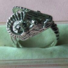 Old Stock Ram Sterling Silver 925 Adjustable Ring skaisJL17