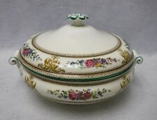 WEDGWOOD china COLUMBIA IVORY W726 pattern Round Covered Vegetable Bowl & Lid