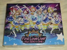 Love Live Aqours First LoveLive Step ZERO to ONE Blu-ray Memorial BOX Japan NEW