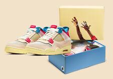 Brand New Jordan 4 Retro x Union LA Guava Ice Size 7 100% Authentic