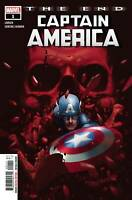 Captain America The End #1 (2020 Marvel Comics) First Print Rahzzah Cover
