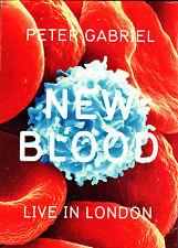PETER GABRIEL new blood live in london Slip-Cased DVD NEU OVP/Sealed