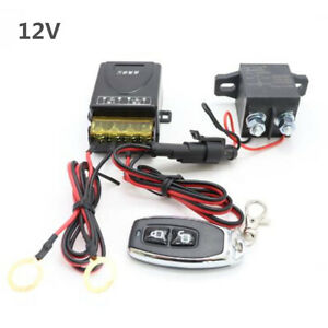 1Pcs Battery Kill Switch Disconnect Isolator Power Cut OFF For Car Camper SUV