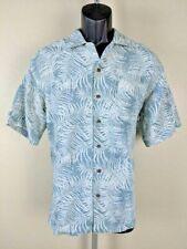 Knightsbridge Mens Medium Aloha Shirt Hawaiian Floral Button Front