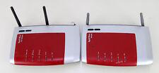 2 x AVM FRITZ!Box Fon WLAN 7270 Edition O2 Drahtlosrouter / 3270 WLan Router