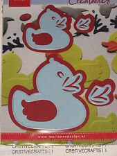 """MARIANNE CREATABLES DIES - """"RUBBER DUCK"""" LR0333 FOR CARDS & SCRAPBOOKING PAGES"""