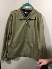 ladies Tommy Hilfiger large spring khaki Jacket