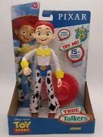 Disney Pixar Toy Story 4 True Talkers Jessie Figure Posable Talking Character