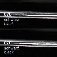 (4,69€/m²) 5m x31cm ORACAL 651 070 Schwarz glanz Plotterfolie selbstklebe Folie