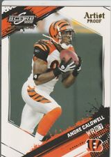 Andre Caldwell Bengals 2009 Score Artist's Proof 19/32