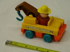 Fisher Price vintage  Little People -  Tow Truck