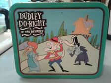 "Small Metal ""Dudley Do-Right"" Lunchbox"