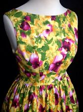 Floral Pinup Style Dress