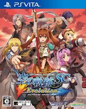 Used PS Vita Eiyuu Densetsu: Sora no Kiseki SC Evolution Free Shipping