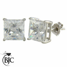 Natural Cubic Zirconia Butterfly Fastening Costume Earrings