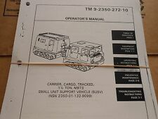 HAGGLUNDS BV206D FULL SET OF MANUALS OPER,LUBE,SERVICE,PARTS CATALOG 5CYL