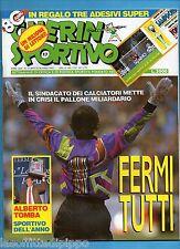 GUERIN SPORTIVO-1992 n.17- ZENGA-TOMBA-LENTINI-FILM CAMPIONATO-NO ADESIVI