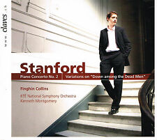 CD album: Stanford: Piano Concerto N°2. Collins. Kenneth Montgomery.Claves. I