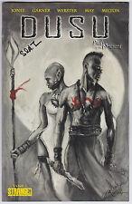 Dusu #1 NM 9.4 Stranger Comics Hi De Ho Comics Variant Signed Sebastian Jones!