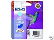 CARTOUCHE EPSON 100%NEUVE T0805 LIGHT CYAN PHOTO / T080 t0801 colibri pour Px800