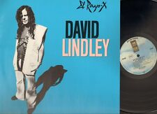 DAVID LINDLEY EL RAYO X 1981  LP NMINT Lyrics Sleeve Jackson Browne