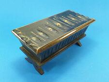 Boîte Bijoux Petit Coffre PETRIN en Bois 22 x10,5x10,5 Cm -Queyras,art-populaire
