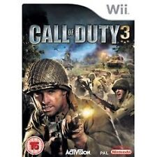 Call of Duty 3 Wii NEW and Sealed (Nintendo Wii, 2006) Call of Duty III