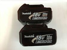 Genuine Makita 18V LXT Lithium Ion 3.0Ah Battery BL1830 Aus stock 2017
