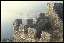 047137 Seljuk Ramparts Alanya 1221 AD A4 Photo Print